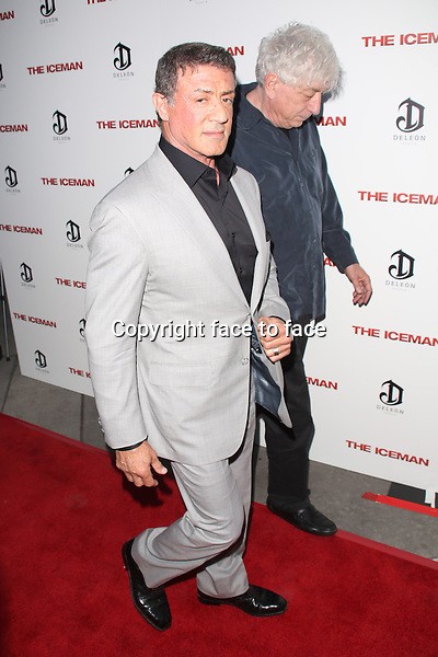 HOLLYWOOD, CA - APRIL 22: Sylvester Stallone at the Los Angeles premiere of Millennium Entertainment's 'The Iceman' at ArcLight Hollywood on April 22, 2013 in Hollywood, ..Credit: MediaPunch/face to face..- Germany, Austria, Switzerland, Eastern Europe, Australia, UK, USA, Taiwan, Singapore, China, Malaysia and Thailand rights only -