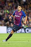 UEFA Champions League 2018/2019 - Matchday 3.<br /> FC Barcelona vs FC Internazionale Milano: 2-0.<br /> Luis Suarez.