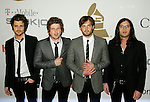 BEVERLY HILLS, CA. - February 07: Musicians Kings of Leon arrive at the 2009 GRAMMY Salute To Industry Icons honoring Clive Davis at the Beverly Hilton Hotel on February 7, 2009 in Beverly Hills, California.