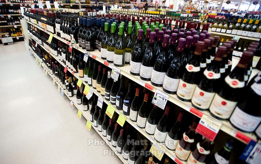 The Applejack Liquor Store in Wheatridge, Colorado, Thursday, May 26, 2011. ..Photo by Matt Nager