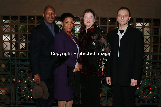 Lanny Hartley, Yvette Freeman, Wendy Sawyer &amp; Andrei Tremaine<br />