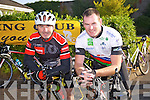 Dan Murphy, Killarney, Padraig O'Donnell, Abbeyfeale enjoying the 8th Annual Castleisland Rugby Club Cycle in aid of the Castleisland Day Care Centre on Sunday