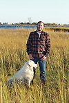 David Goldsmith, Owner of Harbour Trading, at his Rumson, NJ home.