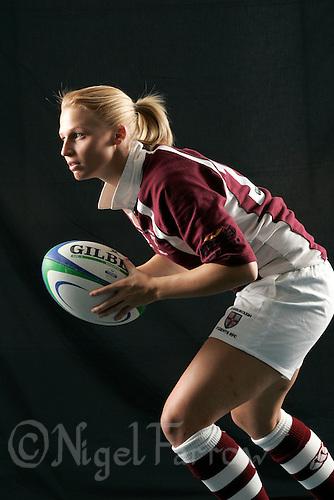 09 NOV 2006 - LOUGHBOROUGH, UK - Loughborough University womens rugby union player, Sophie Nicholas. (PHOTO (C) NIGEL FARROW)