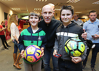 Pictured: Bob Bradkey Tuesday 06 December 2016<br /> Re: Swansea City FC Christmas Party at the Liberty Stadium, Wales, UK