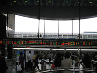 Busy Kyoto Train Station