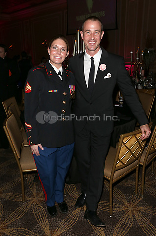 LOS ANGELES, CA - NOVEMBER 9: Megan Leavey, Jason Sabo, at the 2nd Annual Vanderpump Dog Foundation Gala at the Taglyan Cultural Complex in Los Angeles, California on November 9, 2017. Credit: November 9, 2017. Credit: Faye Sadou/MediaPunch