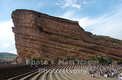 Red Rocks Amphitheater in Morrison, Colorado, USA...PHOTOS/ MATT NAGER