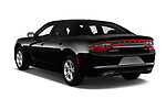 Car pictures of rear three quarter view of a 2018 Dodge Charger SXT 4 Door Sedan angular rear