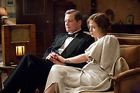 The King's Speech (2010) <br /> Helena Bonham Carter &amp; Colin Firth <br /> *Filmstill - Editorial Use Only*<br /> CAP/MFS<br /> Image supplied by Capital Pictures