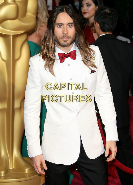 02 March 2014 - Hollywood, California - Jared Leto. 86th Annual Academy Awards held at the Dolby Theatre at Hollywood &amp; Highland Center. <br /> CAP/ADM<br /> &copy;AdMedia/Capital Pictures