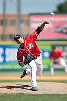 Richmond Flying Squirrels relief pitcher Josh Osich (22) in action against the Bowie Baysox at The Diamond on May 24, 2015 in Richmond, Virginia.  The Flying Squirrels defeated the Baysox 5-2.  (Brian Westerholt/Four Seam Images)