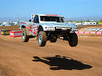 Apr 15, 2011; Surprise, AZ USA; LOORRS driver Scott Martenson (27) during round 3 and 4 at Speedworld Off Road Park. Mandatory Credit: Mark J. Rebilas-.