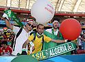 Algeria fans (ALG),<br /> JUNE 22, 2014 - Football / Soccer :<br /> FIFA World Cup Brazil 2014 Group H match between South Korea 2-4 Algeria at Estadio Beira-Rio in Porto Alegre, Brazil. (Photo by SONG Seak-In/AFLO)