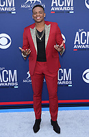 07 April 2019 - Las Vegas, NV - Jimmie Allen. 54th Annual ACM Awards Arrivals at MGM Grand Garden Arena. Photo Credit: MJT/AdMedia<br /> CAP/ADM/MJT<br /> &copy; MJT/ADM/Capital Pictures