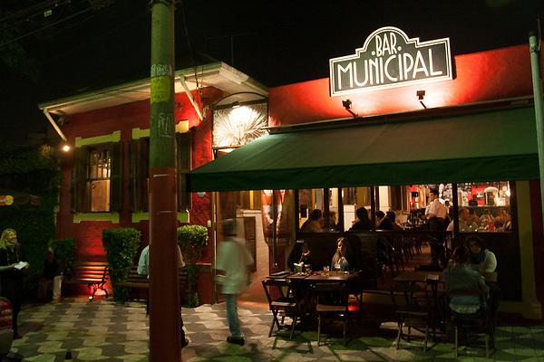 Sao Paulo _ SP, 09 de Setembro de 2008.<br /> <br /> Bar municipal, na regiao da vila madalena.<br /> <br /> Foto: MARCUS DESIMONI / AGENCIA NITRO