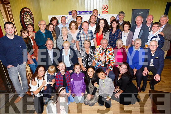 Paddy Joe Baily, Ballymac, celebrates his 80th with family and friends at the Halfway Bar on Saturday