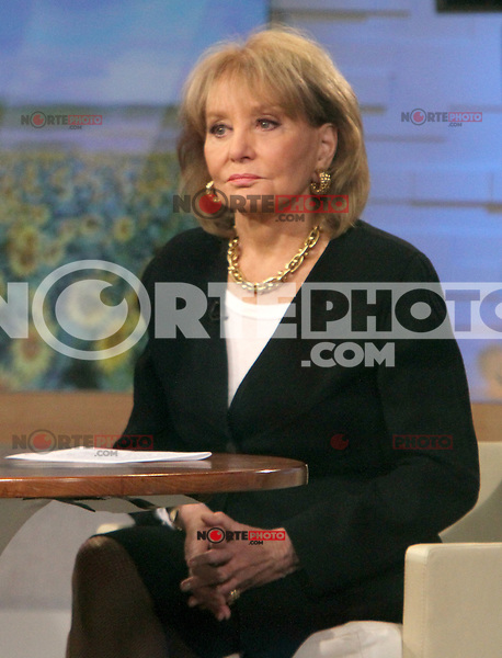 Barbara Walters on Good Morning America to discuss her 20/20 report on extreme parenting little people living in big world in New York City. Credit: RW/MediaPunch Inc.