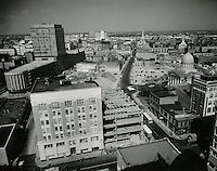 1961 March 2..Redevelopment.Downtown North (R-8)..Downtown Progress..North View from VNB Building..HAYCOX PHOTORAMIC INC..NEG# C-61-5-56.NRHA#..