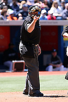 May 24th 2008:  Major League Umpire Bruce Dreckman during a game at the Rogers Centre in Toronto, Ontario, Canada .  Photo by:  Mike Janes/Four Seam Images