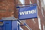 Wine Rack shop sign