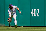 14 April 2018: Colorado Rockies outfielder Charlie Blackmon gets the second out in the bottom of the 4th inning against the Washington Nationals at Nationals Park in Washington, DC. The Nationals rallied to defeat the Rockies 6-2 in the 3rd game of their 4-game series. Mandatory Credit: Ed Wolfstein Photo *** RAW (NEF) Image File Available ***