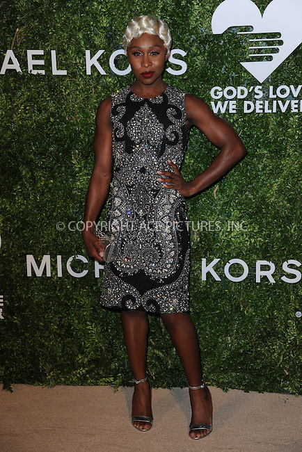 www.acepixs.com<br /> October 17, 2016  New York City<br /> <br /> Cynthia Erivo attending the God's Love We Deliver Golden Heart Awards on October 17, 2016 in New York City.<br /> <br /> <br /> Credit: Kristin Callahan/ACE Pictures<br /> <br /> <br /> Tel: 646 769 0430<br /> Email: info@acepixs.com