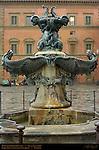 Fontane del Caccuccio Fish-Soup Fountains Pietro Tacca Piazza della SS Annunziata in Florence