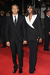 NON EXCLUSIVE PICTURE: PAUL TREADWAY / MATRIXPICTURES.CO.UK.PLEASE CREDIT ALL USES..WORLD RIGHTS..British supermodel Naomi Campbell is pictured attending The Royal World Premiere of Skyfall, Royal Albert Hall, London...OCTOBER 23RD 2012..REF: PTY 124755