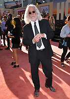"""LOS ANGELES, USA. July 23, 2019: Robert Richardson at the premiere of """"Once Upon A Time In Hollywood"""" at the TCL Chinese Theatre.<br /> Picture: Paul Smith/Featureflash"""