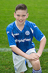 St Johnstone FC Academy Under 14's<br /> James O'Connor<br /> Picture by Graeme Hart.<br /> Copyright Perthshire Picture Agency<br /> Tel: 01738 623350  Mobile: 07990 594431