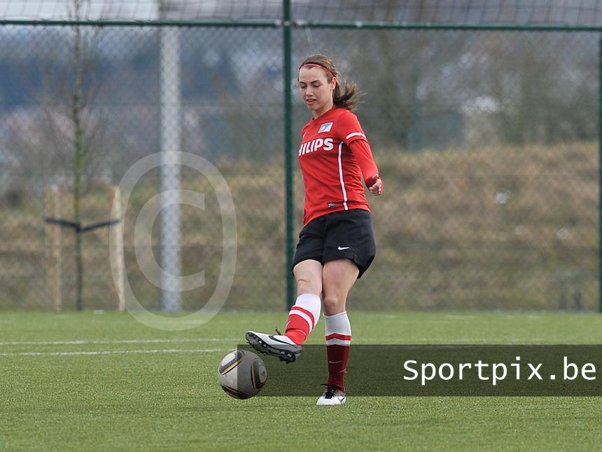 RSC Anderlecht Dames - PSV / FC Eindhoven : ..Maran van Erp.foto David Catry / Vrouwenteam.be