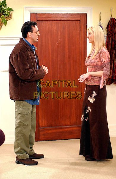 "HANK AZARIA & LISA KUDROW .in Friends.""The One With The Male Nanny"".Filmstill - Editorial Use Only.Ref: FBAW.www.capitalpictures.com.sales@capitalpictures.com.Supplied By Capital Pictures."