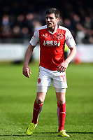 Fleetwood Town's Bobby Grant looks on<br /> <br /> Photographer Richard Martin-Roberts/CameraSport<br /> <br /> The EFL Sky Bet League One - Fleetwood Town v Millwall - Monday 17th April 2017 - Highbury Stadium - Fleetwood<br /> <br /> World Copyright &copy; 2017 CameraSport. All rights reserved. 43 Linden Ave. Countesthorpe. Leicester. England. LE8 5PG - Tel: +44 (0) 116 277 4147 - admin@camerasport.com - www.camerasport.com