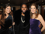 "From left: Blayne Fertitta, Jason Derulo and Paige Fertitta at the San Luis Salute ""Space Pirates"" VIP reception Friday February 24,2017. (Dave Rossman Photo)"