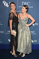 Lois and Jaime Winstone<br /> arriving for the 2018 IWC Schaffhausen Gala Dinner in Honour of the BFI at the Electric Light Station, London<br /> <br /> ©Ash Knotek  D3437  09/10/2018