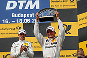June 17th 2017, Hunaroring, Budapest, Hungary; DTM Motor racing series;  3 Paul di Resta (GBR, HWA AG, Mercedes-AMG C63 DTM), BMW M4 DTM), 7 Bruno Spengler (CAN, BMW Team RBM, BMW M4 DTM)