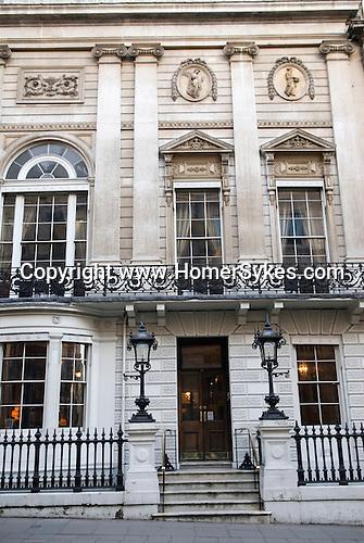 Whites Gentlemans Club St James Street London W1.