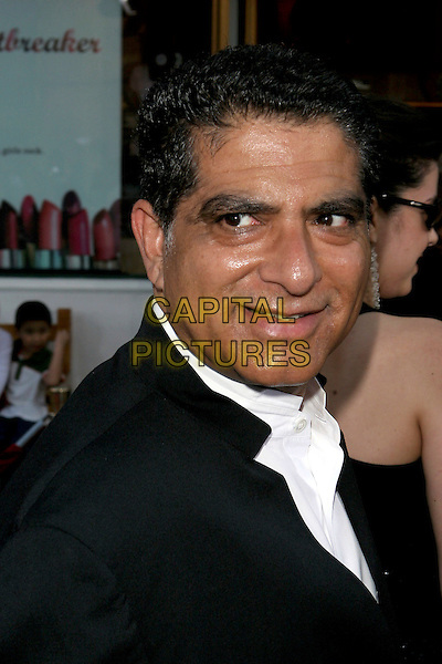 "DEEPAK CHOPRA.""Cinderella Man"" World Premiere held at The Gibson Amphitheatre..May 23rd, 2005.Photo Credit: Jacqui Wong/AdMedia.headshot portrait.www.capitalpictures.com.sales@capitalpictures.com.© Capital Pictures."