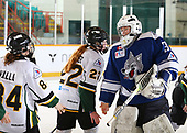 Sudbury, ON - Apr 23 2019 - Sudbury Lady Wolves vs Stoney Creek Sabres during the 2019 ESSO Cup at the Gerry McCrory Countryside Sports Complex in Sudbury, Ontario, Canada (Photo: Alex D'Addese/Hockey Canada)