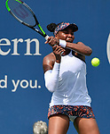 August  13, 2019:  Venus Williams (USA) defeated Kiki Bertens (NED) 6-3, 3-6, 7-6, at the Western & Southern Open being played at Lindner Family Tennis Center in Mason, Ohio. ©Leslie Billman/Tennisclix/CSM