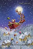 Marcello, CHRISTMAS SANTA, SNOWMAN, WEIHNACHTSMÄNNER, SCHNEEMÄNNER, PAPÁ NOEL, MUÑECOS DE NIEVE, paintings+++++,ITMCXM1401,#X#