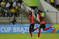 29th October 2019; Bezerrao Stadium, Brasilia, Distrito Federal, Brazil; FIFA U-17 World Cup Brazil 2019, Angola versus Canada; David of Angola celebrates the victory after the match - Editorial Use