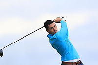 Jack Blake (Island) on the 10th tee during Round 4 of The East of Ireland Amateur Open Championship in Co. Louth Golf Club, Baltray on Monday 3rd June 2019.<br /> <br /> Picture:  Thos Caffrey / www.golffile.ie<br /> <br /> All photos usage must carry mandatory copyright credit (© Golffile | Thos Caffrey)