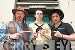 The street of Cahersiveen will be transformed this weekend for the first ever Wild West Festival. .L-R Alan Landers, Sean Egan and TK Nassar.