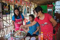 Shan noodle shop
