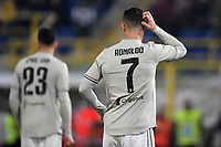 Cristiano Ronaldo of Juventus reacts during the Italy Cup 2018/2019 football match between Bologna and Juventus at stadio Renato Dall'Ara, Bologna, January 12, 2019 <br />  Foto Andrea Staccioli / Insidefoto