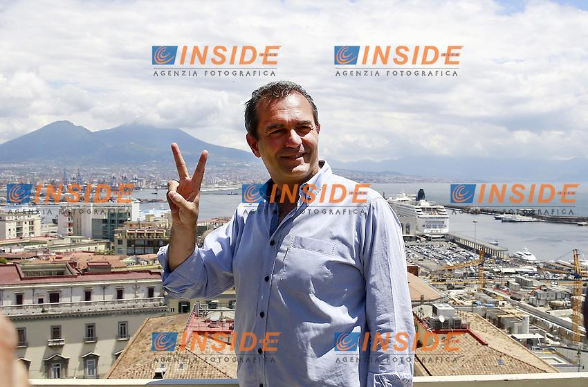 Luigi De Magistris Sindaco di Napoli 2016 - 2021  <br /> Napoli 19-06-2016 Hotel Mediterraneo.<br /> Proclamazione a Sindaco della citta' di Napoli - Italia<br /> Proclamation as Mayor of the city of Naples - Italy<br /> Foto Cesare Purini / Insidefoto