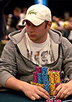 Chip leader David Baker