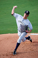 Tampa Yankees Shane Greene #48 during a Florida State League game against the Bradenton Marauders at McKechnie Field on July 19, 2012 in Bradenton, Florida.  Bradenton defeated Tampa 4-3.  (Mike Janes/Four Seam Images)